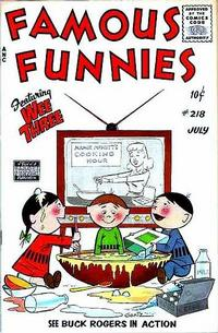 Cover Thumbnail for Famous Funnies (Eastern Color, 1934 series) #218