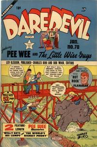 Cover Thumbnail for Daredevil Comics (Lev Gleason, 1941 series) #70