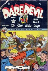 Cover Thumbnail for Daredevil Comics (Lev Gleason, 1941 series) #74