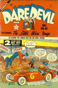Cover Thumbnail for Daredevil Comics (Lev Gleason, 1941 series) #81
