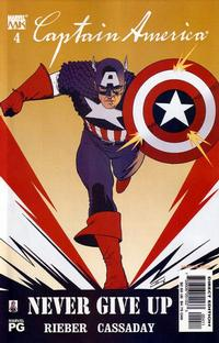Cover Thumbnail for Captain America (Marvel, 2002 series) #4 [Direct Edition]