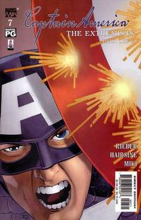 Cover Thumbnail for Captain America (Marvel, 2002 series) #7 [Direct Edition]