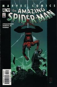 Cover Thumbnail for The Amazing Spider-Man (Marvel, 1999 series) #44 (485) [Direct Edition]