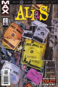 Cover for Alias (Marvel, 2001 series) #7