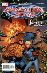 Cover Thumbnail for Fantastic Four (Marvel, 1998 series) #63 (492) [Direct Edition]