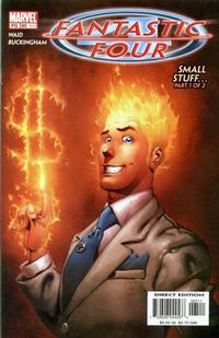 Cover Thumbnail for Fantastic Four (Marvel, 1998 series) #65 (494) [Direct Edition]