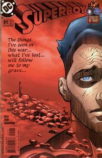 Cover Thumbnail for Superboy (DC, 1994 series) #91 [Direct Sales]