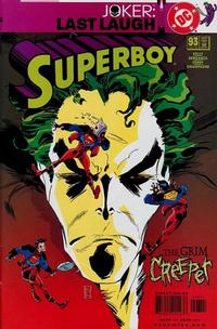Cover Thumbnail for Superboy (DC, 1994 series) #93 [Direct Sales]
