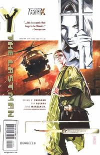 Cover Thumbnail for Y: The Last Man (DC, 2002 series) #10