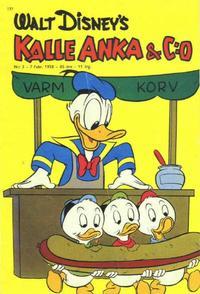 Cover Thumbnail for Kalle Anka & C:o (Hemmets Journal, 1957 series) #3/1958