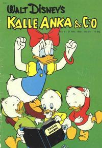 Cover Thumbnail for Kalle Anka & C:o (Hemmets Journal, 1957 series) #4/1958