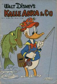 Cover Thumbnail for Kalle Anka & C:o (Hemmets Journal, 1957 series) #8/1958