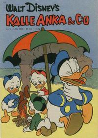 Cover Thumbnail for Kalle Anka & C:o (Hemmets Journal, 1957 series) #9/1958