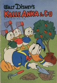 Cover Thumbnail for Kalle Anka & C:o (Hemmets Journal, 1957 series) #11/1958