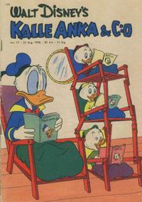 Cover Thumbnail for Kalle Anka & C:o (Hemmets Journal, 1957 series) #17/1958