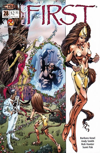 Cover for The First (CrossGen, 2000 series) #28