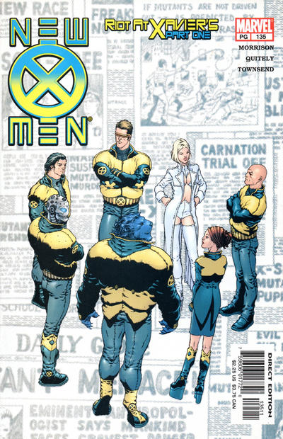 Cover for New X-Men (Marvel, 2001 series) #135