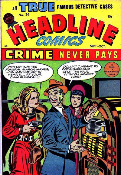 Cover for Headline Comics (Prize, 1943 series) #v3#2 (26)