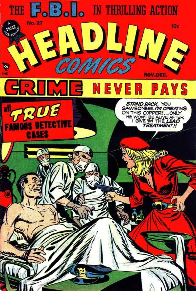 Cover for Headline Comics (Prize, 1943 series) #v3#3 (27)