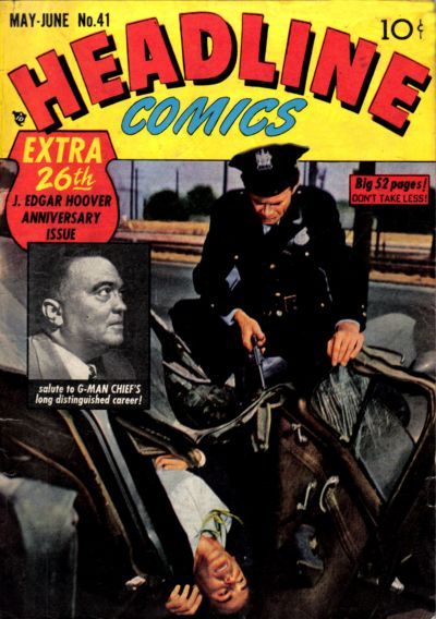Cover for Headline Comics (Prize, 1943 series) #v5#5 (41)