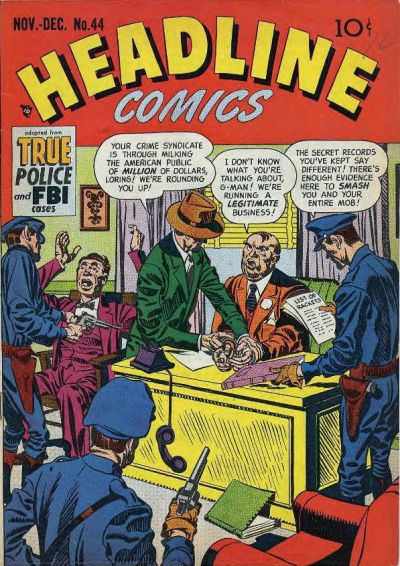 Cover for Headline Comics (Prize, 1943 series) #v6#2 (44)