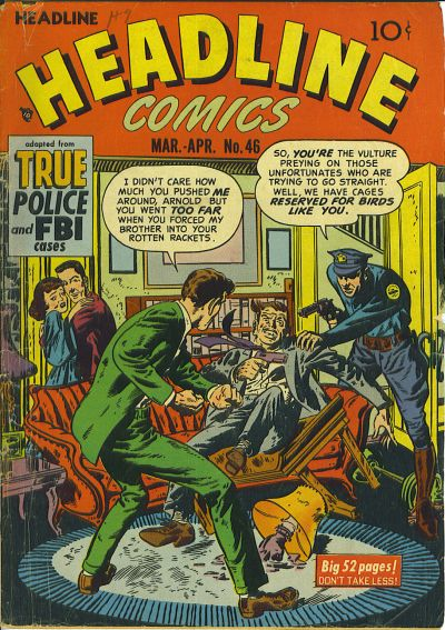 Cover for Headline Comics (Prize, 1943 series) #v6#4 (46)