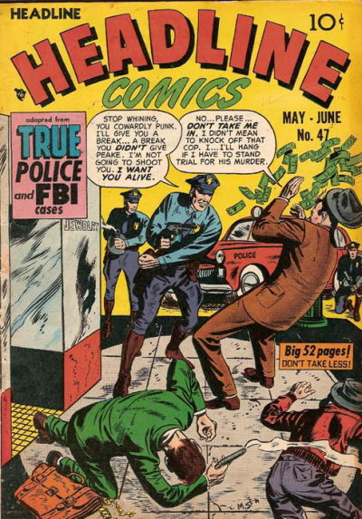 Cover for Headline Comics (Prize, 1943 series) #v6#5 (47)