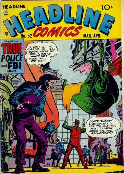 Cover for Headline Comics (Prize, 1943 series) #v7#4 (52)
