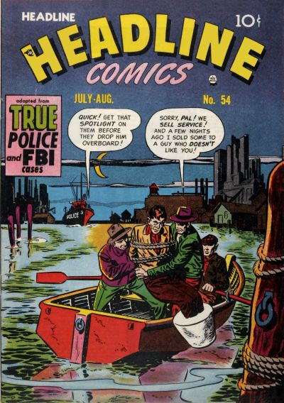 Cover for Headline Comics (Prize, 1943 series) #v7#6 (54)