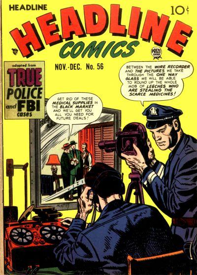 Cover for Headline Comics (Prize, 1943 series) #v8#2 (56)