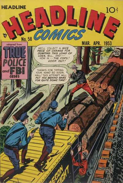 Cover for Headline Comics (Prize, 1943 series) #v8#4 (58)
