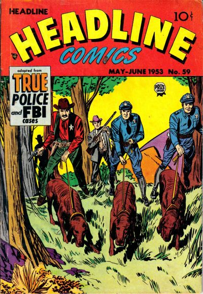 Cover for Headline Comics (Prize, 1943 series) #v8#5 (59)