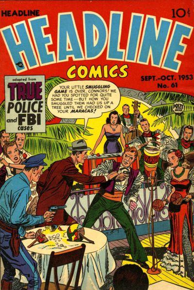 Cover for Headline Comics (Prize, 1943 series) #v9#1 (61)