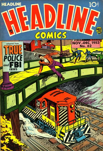 Cover for Headline Comics (Prize, 1943 series) #v9#2 (62)