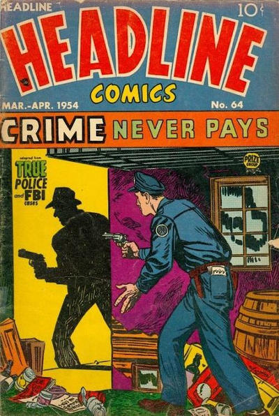 Cover for Headline Comics (Prize, 1943 series) #v9#4 (64)