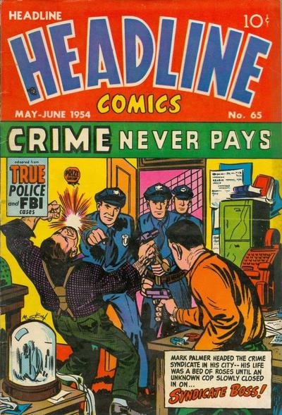 Cover for Headline Comics (Prize, 1943 series) #v9#5 (65)