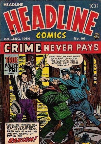 Cover for Headline Comics (Prize, 1943 series) #v9#6 (66)