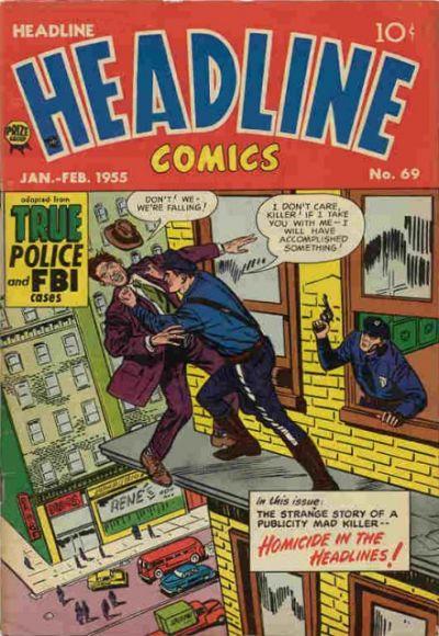 Cover for Headline Comics (Prize, 1943 series) #v10#3 (69)
