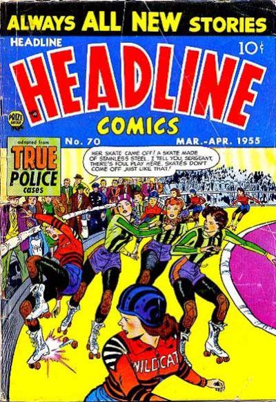 Cover for Headline Comics (Prize, 1943 series) #v10#4 (70)