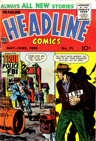 Cover for Headline Comics (Prize, 1943 series) #v10#5 (71)
