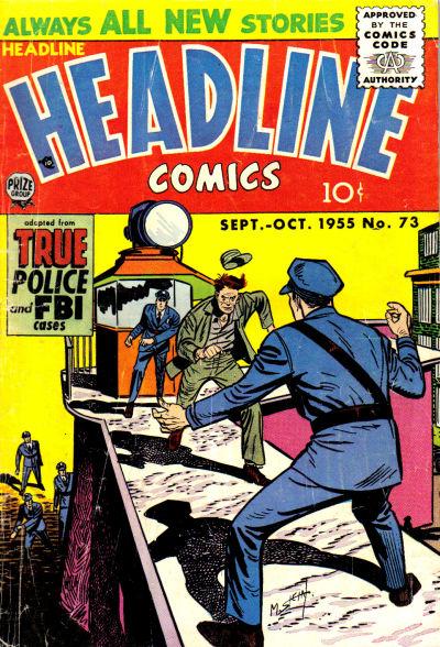 Cover for Headline Comics (Prize, 1943 series) #v11#1 (73)