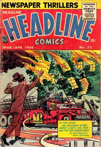 Cover for Headline Comics (Prize, 1943 series) #v11#3 (75)