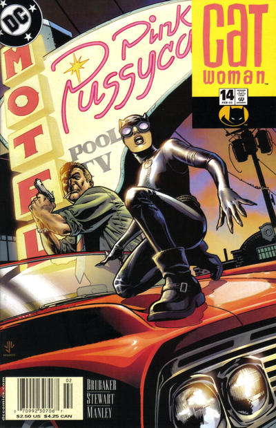 Cover for Catwoman (DC, 2002 series) #14