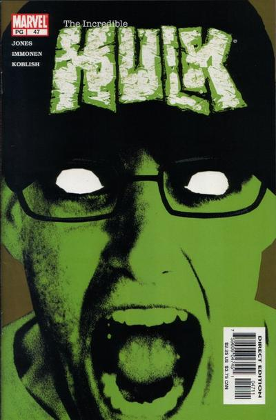 Cover for Incredible Hulk (Marvel, 2000 series) #47