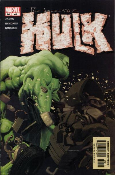 Cover for Incredible Hulk (Marvel, 2000 series) #48