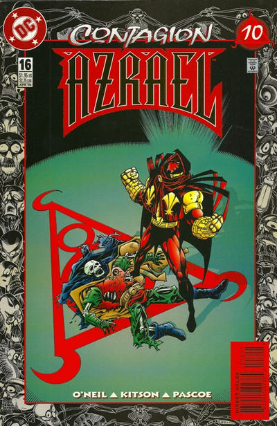 Cover for Azrael (DC, 1995 series) #16 [Direct Sales]