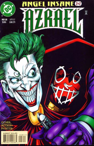 Cover for Azrael (DC, 1995 series) #28