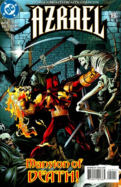 Cover for Azrael (DC, 1995 series) #29