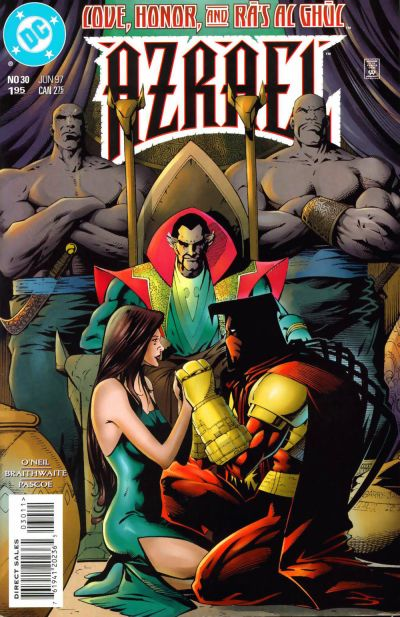 Cover for Azrael (DC, 1995 series) #30