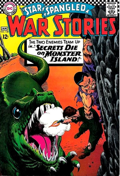 Cover for Star Spangled War Stories (DC, 1952 series) #130